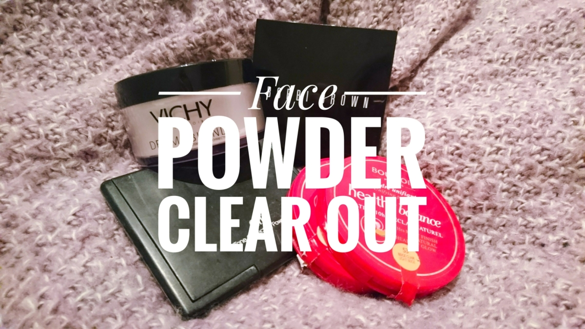 Makeup Clear Out - Face Powder
